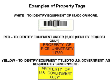 example of property tags